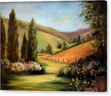 Bella Valle Canvas Print
