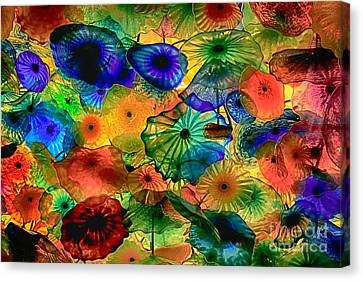 Bellagio Flowers Canvas Print