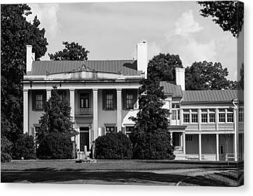 Canvas Print featuring the photograph Belle Meade Mansion by Robert Hebert