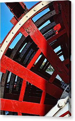 Belle Of Louisville Paddlewheel Canvas Print
