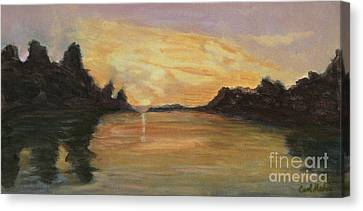 Belle River II Canvas Print
