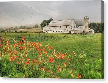 Belleville Morning Canvas Print by Lori Deiter