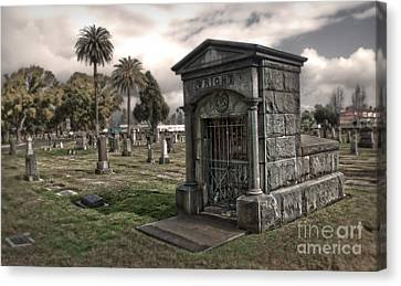 Bellevue Cemetery Canvas Print by Gregory Dyer