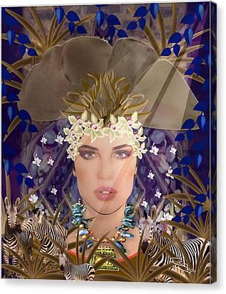 Belleza Terrosa  Canvas Print