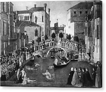 Bellini Miracle, C1500 Canvas Print by Granger