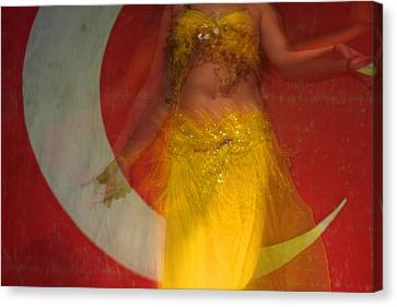 Belly Dance Canvas Print by Matthias Hauser