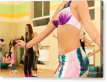 Belly Dancing Class Canvas Print
