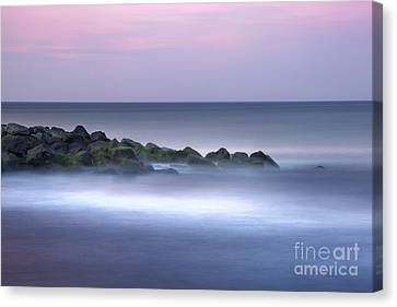 Belmar On The Rocks Canvas Print by Marco Crupi