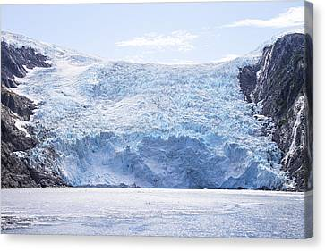 Beloit Glacier Canvas Print by Saya Studios