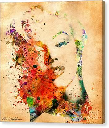 Beautiful Woman Face Canvas Print - Beloved by Mark Ashkenazi