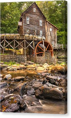 Below The Old Mill Canvas Print by Gregory Ballos