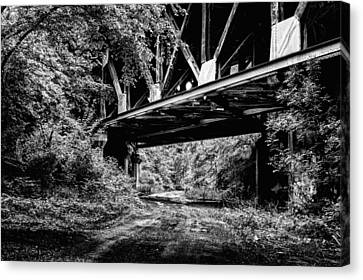 Below The Skyway Canvas Print by JC Findley