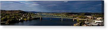 Belpre Bridge Canvas Print