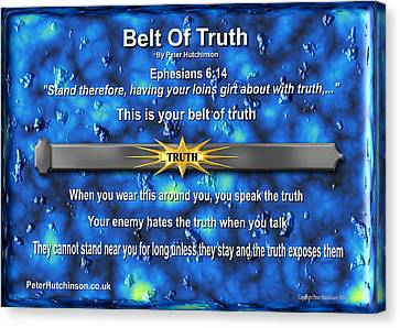 Belt Of Truth Canvas Print