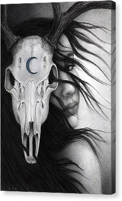 Canvas Print featuring the painting Beltane by Pat Erickson