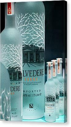 Belvedere Vodka Still Life Canvas Print