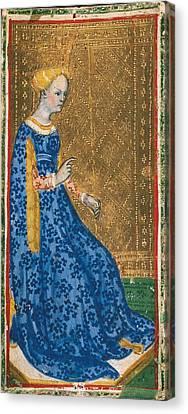 1420 Canvas Print - Bembo, Bonifacio 1420-1482. Tarot Card by Everett