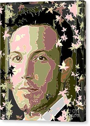 Ben Affleck Canvas Print by Dalon Ryan