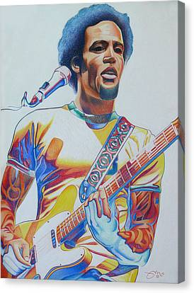 Ben Harper Canvas Print by Joshua Morton