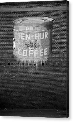 Ben Hur Coffee Canvas Print by Peter Tellone