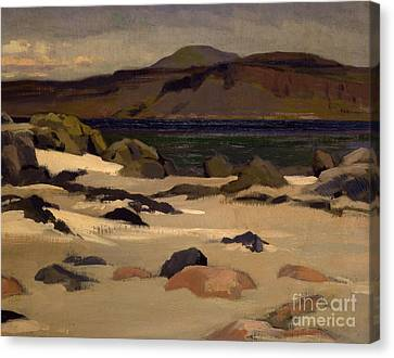 Ben More From Cows Rock Canvas Print by Francis Campbell Boileau Cadell