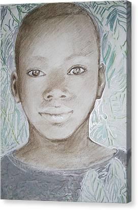 Ben Canvas Print by Terri Ana Stokes