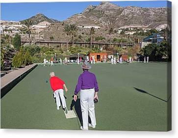 Benalmadena, Costa Del Sol, Spain Canvas Print by Ken Welsh