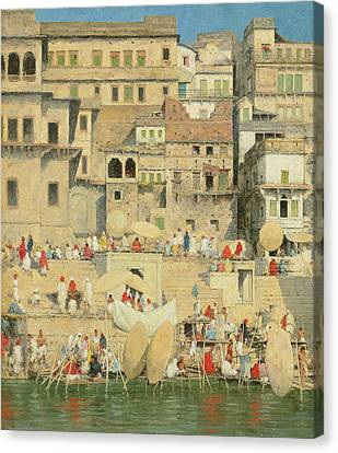 Benares Canvas Print by Mortimer Ludington Menpes