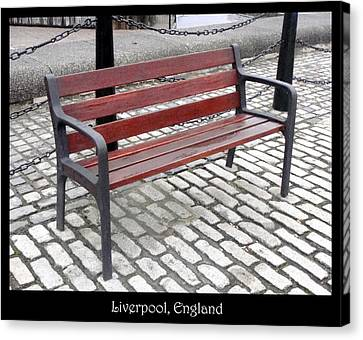 Bench #26 Canvas Print by Roberto Alamino