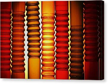 Bendy Straws Canvas Print by John King