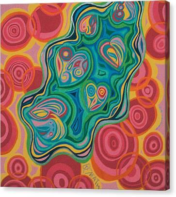 Beneath Canvas Print by Mike Manzi