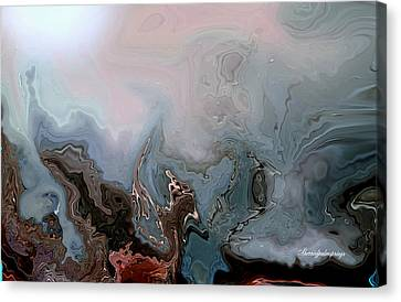 Beneath The Beautiful Deep Sea Canvas Print by Sherri's Of Palm Springs