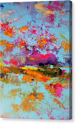 Beneath The Surface Canvas Print by Sally Kelly
