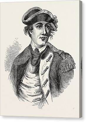 Benedict Arnold Was A General During The American Canvas Print