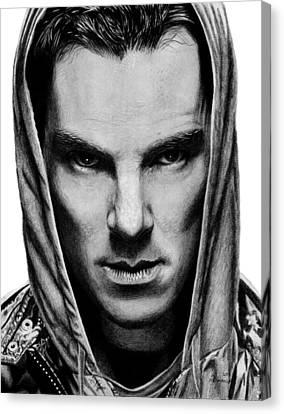 Benedict Cumberbatch Canvas Print by Kayleigh Semeniuk