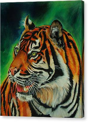 Bengal Canvas Print by Jean Cormier