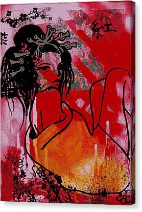 Beni Canvas Print by Erica Falke
