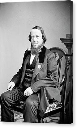 Benjamin Silliman Canvas Print by Library Of Congress