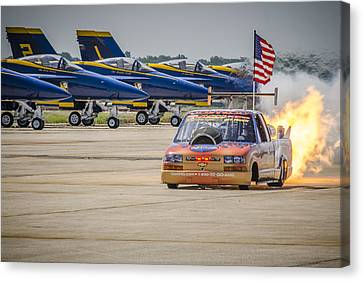 Bennie And The Jets Canvas Print by Bradley Clay