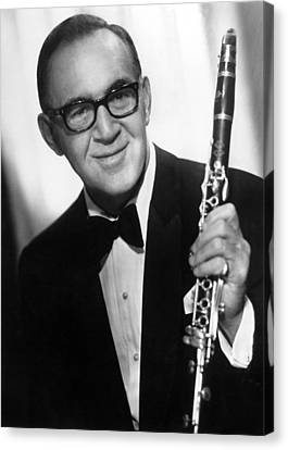 Benny Goodman (1909-1986) Canvas Print by Granger