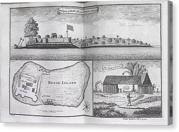Bense Island Canvas Print by British Library