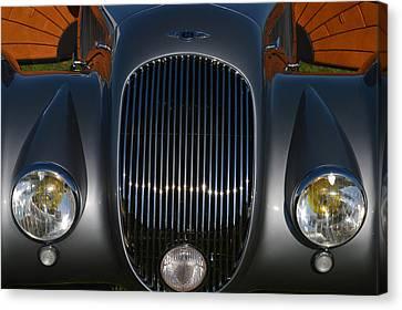 British Hot Rod Canvas Print - Bentley Roadster by Bill Dutting