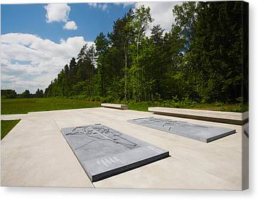 Bergen-belsen Ww2 Concentration Camp Canvas Print by Panoramic Images