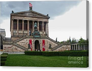 Berlin - National Gallery Canvas Print by Gregory Dyer
