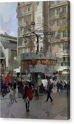 Berlin Alexanderplatz Canvas Print by Steve K