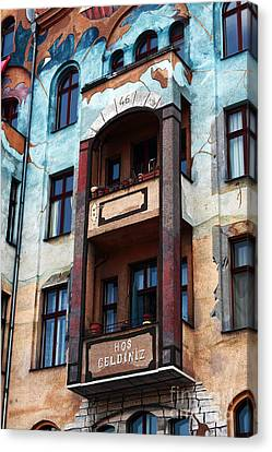 Berlin Architecture Canvas Print by John Rizzuto