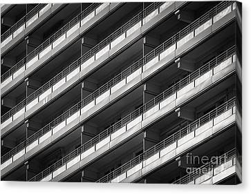 Berlin Balconies Canvas Print