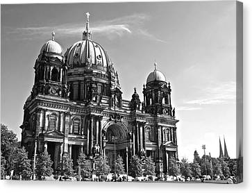 Evangelical Canvas Print - Berlin Cathedral by Galexa Ch
