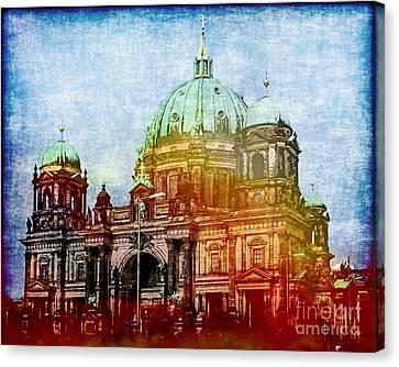 Dom Canvas Print - Berlin Dome by Lutz Baar
