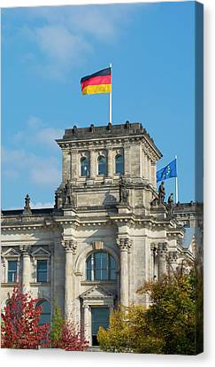 Berlin, Germany Reichstag Building Canvas Print